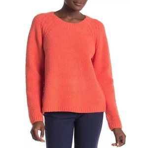 Eileen Fisher Lory Organic Cotton Fuzzy Sweater